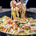 Fettuccine With Shrimp Sauce