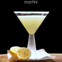 Lemon Meringue Martini - tastes just like a lemon meringue pie, with a kick!