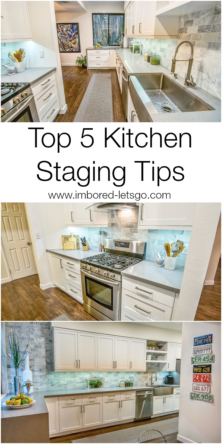 STAGING A KITCHEN TO SELL