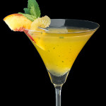 Peach Ginger-tini