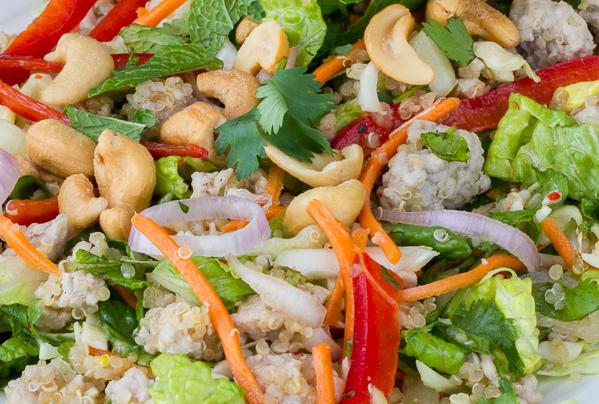 Thai-Pork Quinoa Salad
