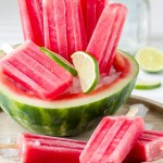Watermelon Margarita Popsicles