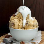 Sweet Potato Pie Ice Cream with Candied Pecans