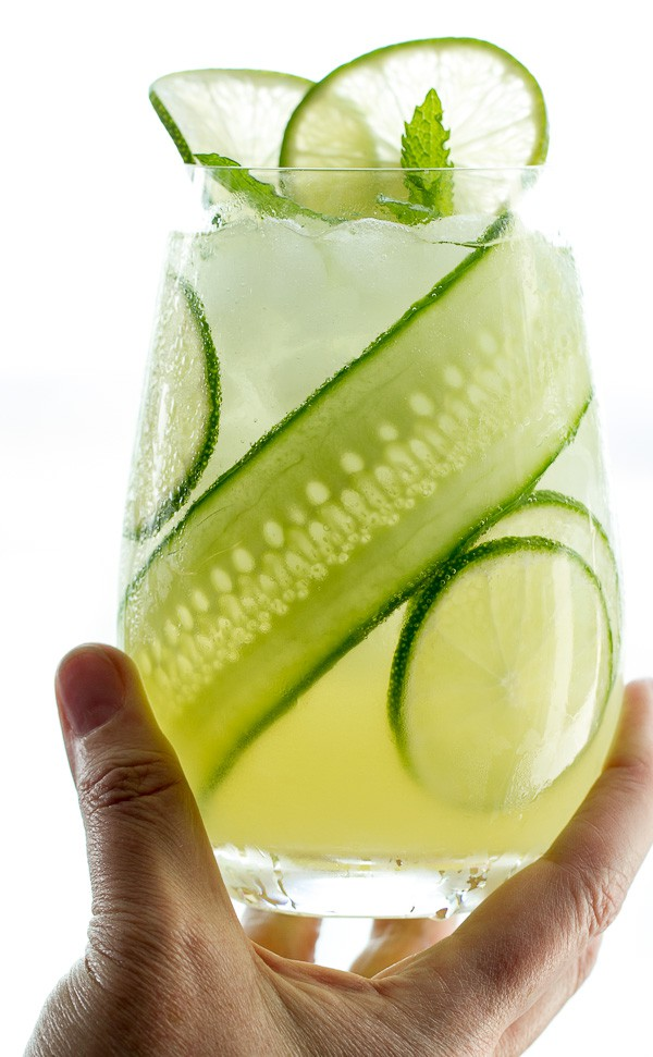 Gin Cucumber Cooler is a refreshing summer cocktail