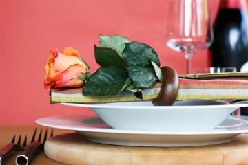 感恩节餐桌布置