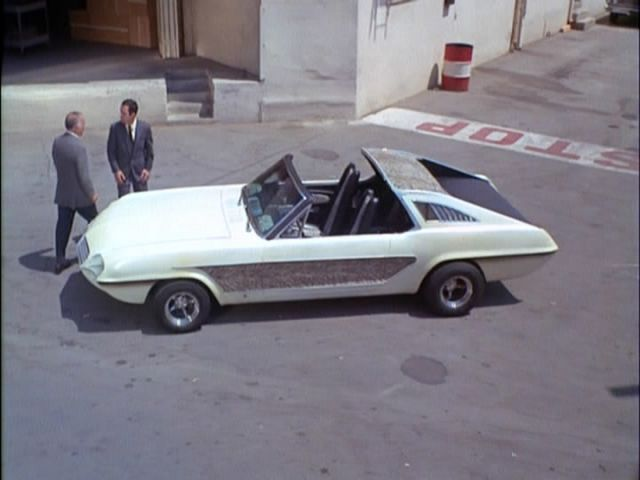 IMCDb org  1965 Ford Mustang Zebra by George Barris in  Get Smart     1965 Ford Mustang Zebra by George Barris