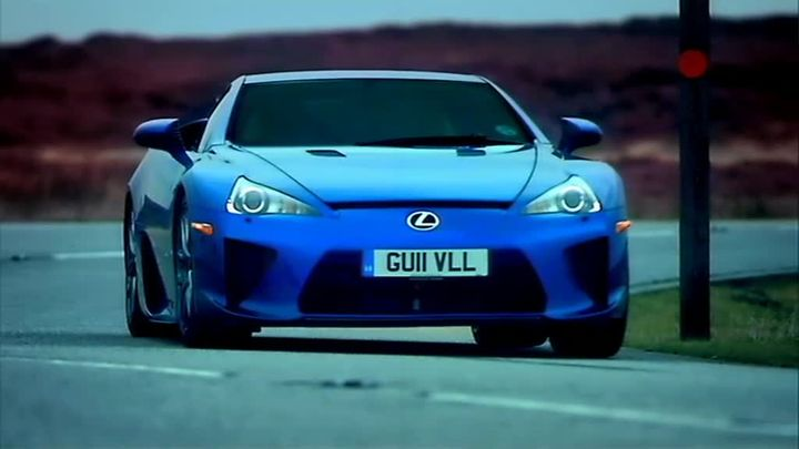 Imcdb Org 2011 Lexus Lfa In Quot Top Gear The Worst Car In The History Of The World 2012 Quot