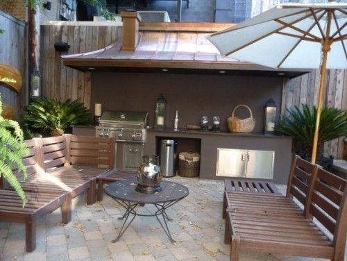 Barbacoas de jardín, terraza e interiores