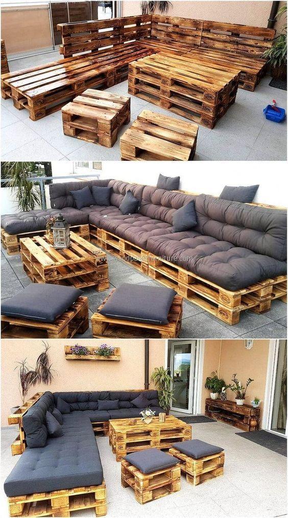 patios interiores y exteriores