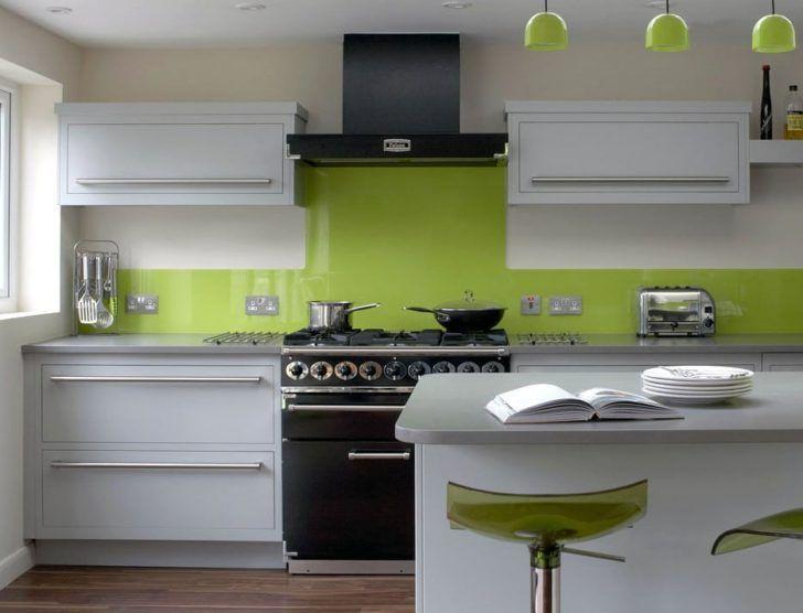 cocina verde sin azulejo