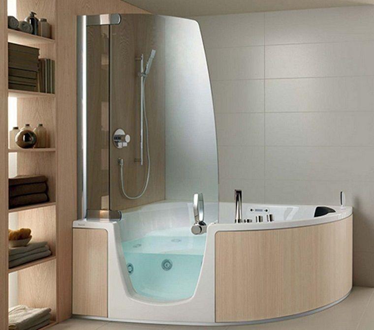 bañera hidromasaje con ducha