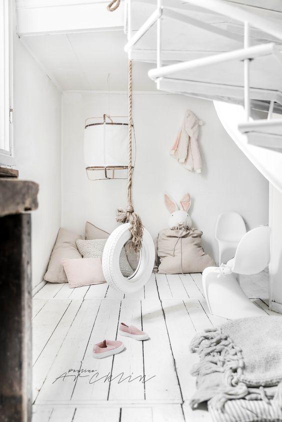 Decoración de tu hogar con estilo Nórdico - habitación infantil