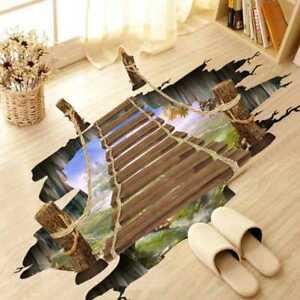vinilo decorativo para suelos - puente colgante