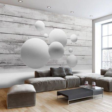 vinilo decorativos con esferas blancas
