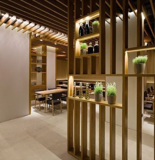 Decoración de interiores con separadores de ambiente (2)