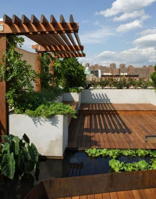 11 Ideas para terraza jardín (5)