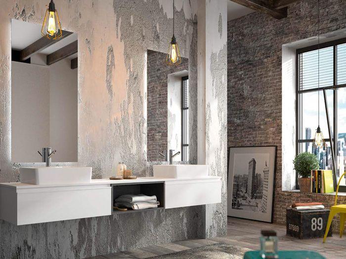 Los 3 estilos más importantes para la decoración - industrial baños