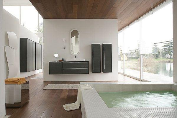 Reforma y decoración de un baño grande (10)