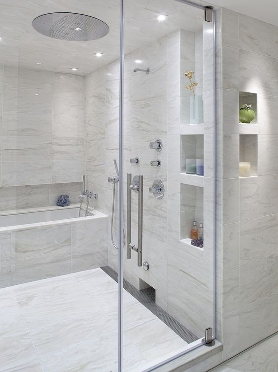 Reforma y decoración de un baño grande (14)