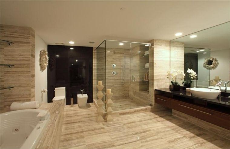 Reforma y decoración de un baño grande (6)