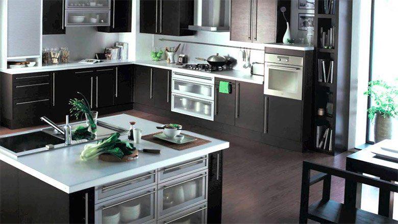 cocinas pequeñas modernas y elegantes