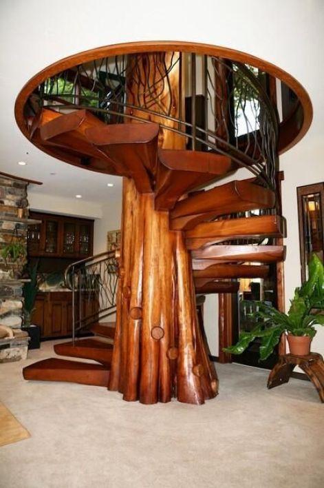 escaleras que desearias tener en tu casa (9)