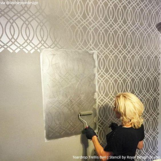 Decoraciones de paredes con pintura (2)