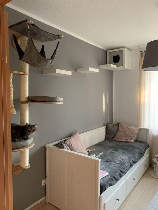 Ideas DIY para crear espacios para gatos (14)