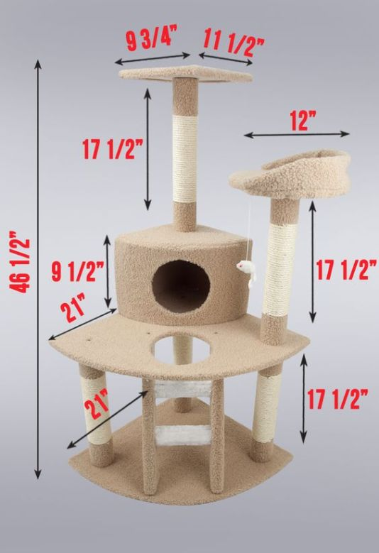 Ideas DIY para crear espacios para gatos (15)
