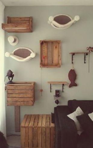 Ideas DIY para crear espacios para gatos (2)