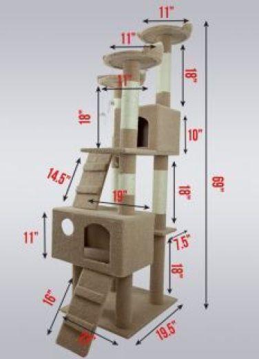 Ideas DIY para crear espacios para gatos (5)