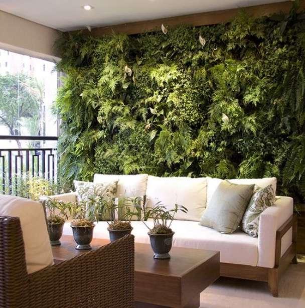 decoración del hogar con plantas