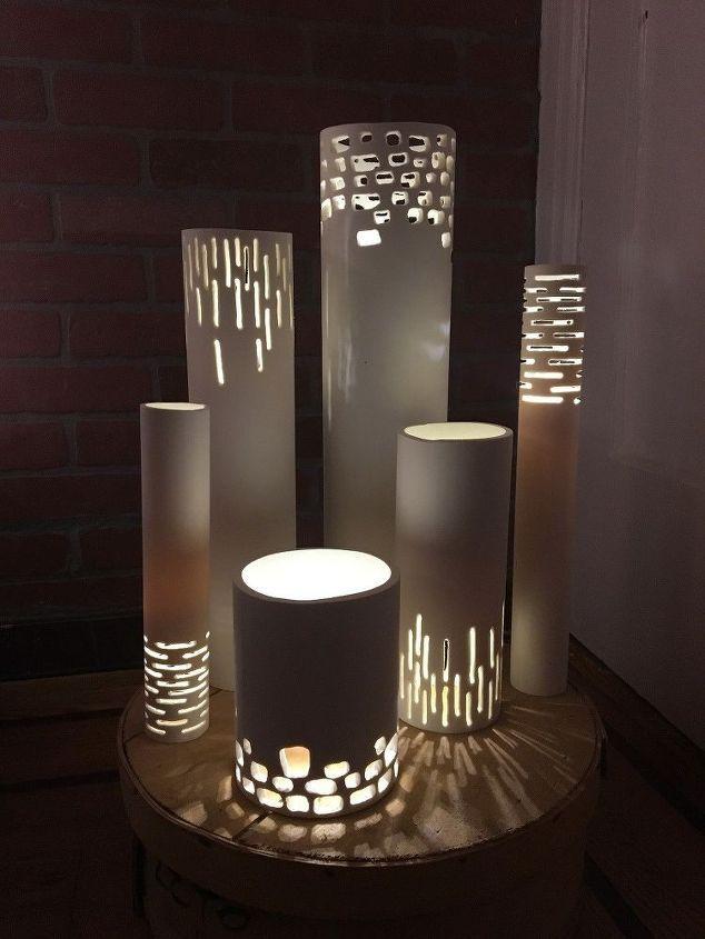 lámpara de encaje