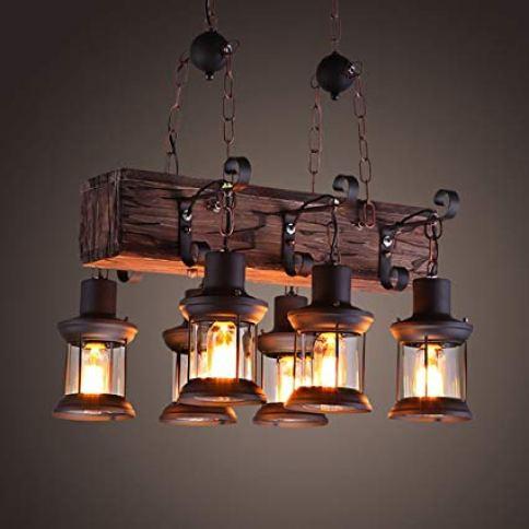 madera para lámparas