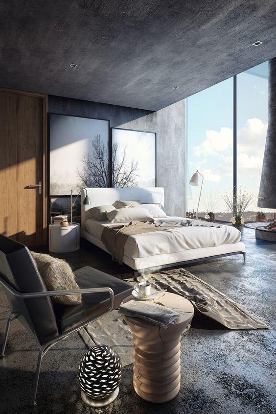 Decoración del hogar con cemento y hormigón (11)