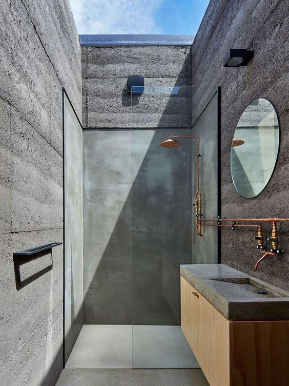 Decoración del hogar con cemento y hormigón (16)