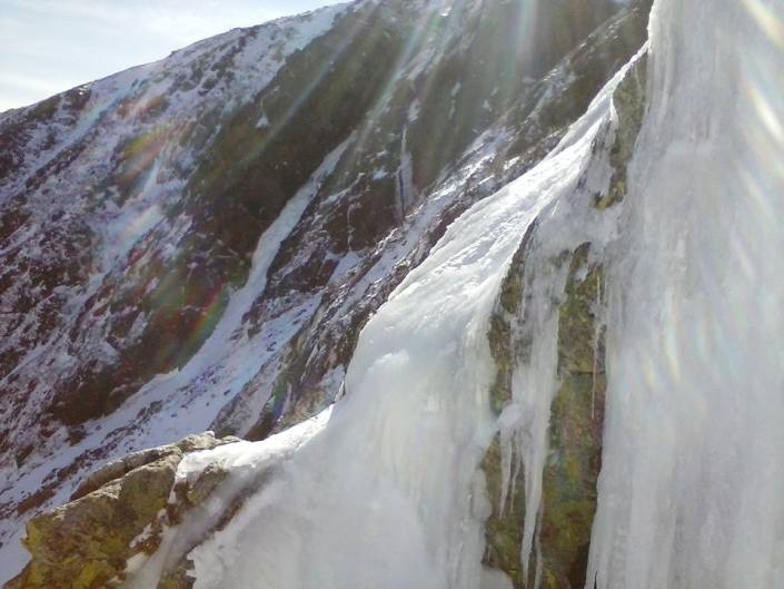View of Pinnacle Gully from Yale.