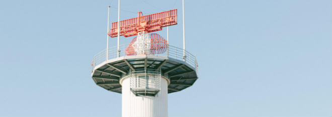 Funkantennen auf Turm