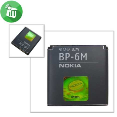 Accessories Original Battery for Nokia BP-6M_04