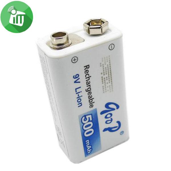 qoop GD 9V 500mAh Rechargeable Li-ion Battery (1)