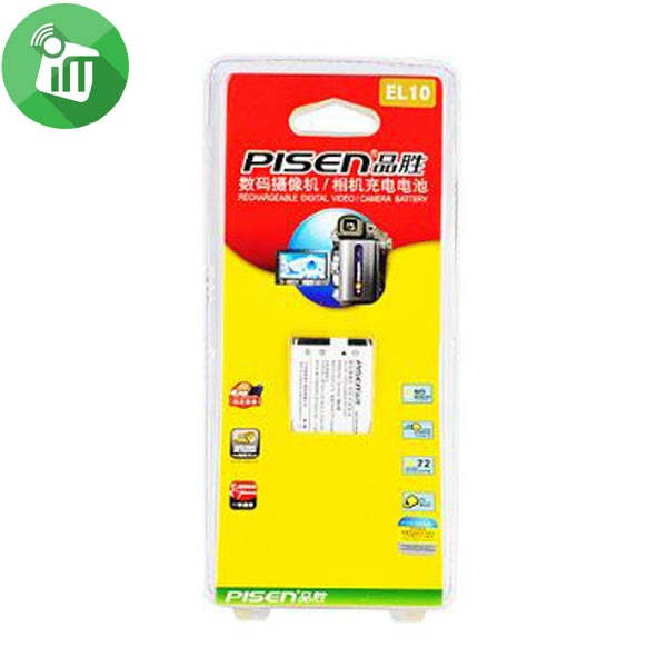 Pisen EL10 Camera Battery Charger for NIKON S200 (1)