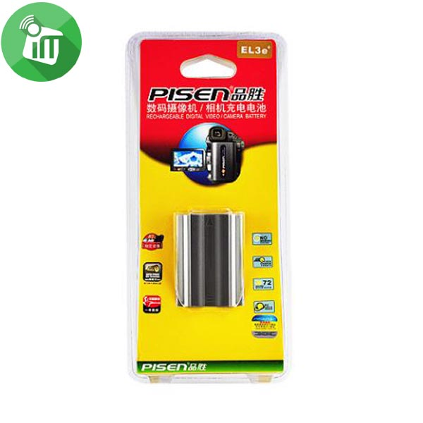 Pisen EL3e+ Camera Battery Charger for NIKON D200 (3)