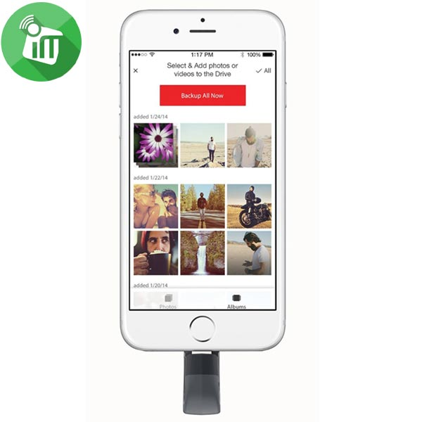 SanDisk iXpand Flash Drive for Iphone and Ipad (4)