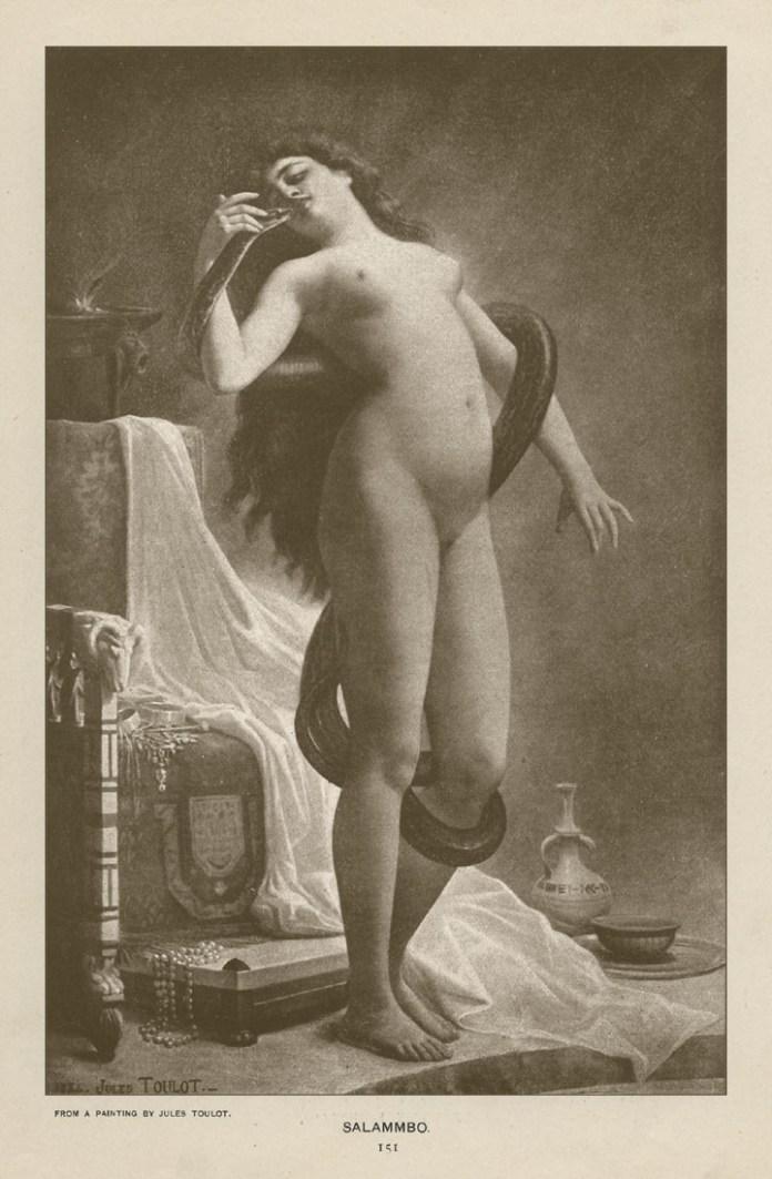 Salammbo, Jules Toulot