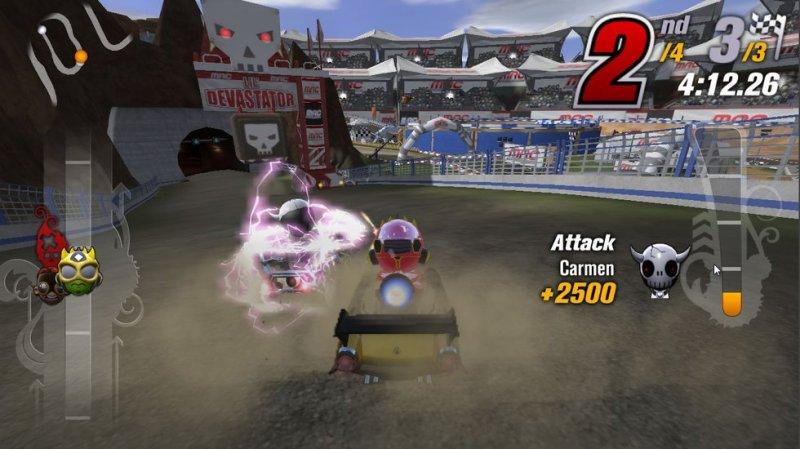 Test - Modnation Racers Road Trip - principe du jeu