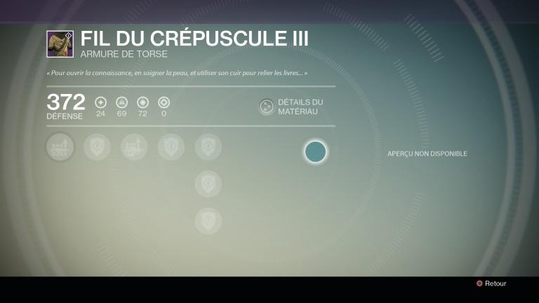 Actualité - Destiny : journal de bord, jour 12 à 15 - lucky decrypt