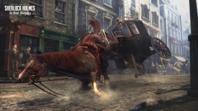 Actualité - Sherlock Holmes - The Devil's Daughter - square horse falling