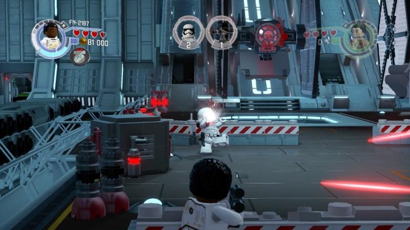 Combat de blaster