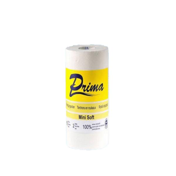 Papierrolle, Zellstoff, 2-lagige, Palette
