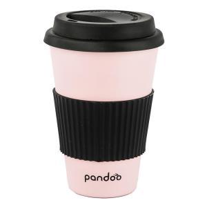 Mehrweg Kaffeebecher mit Silikon Hitzeschutz
